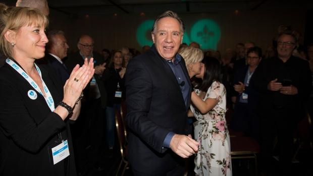Quebec Premier and CAQ leader Francois Legault