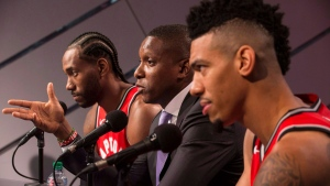 How did Ujiri build the Raptors into a contender?