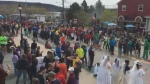 It was a party-like atmosphere in Baddeck on Sunday morning, as runners made a dash towards the finish line, marking the end of the 2019 Cabot Trail Relay, one of the largest and most popular running events in Eastern Canada.