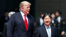 Donald Trump & Emperor Naruhito
