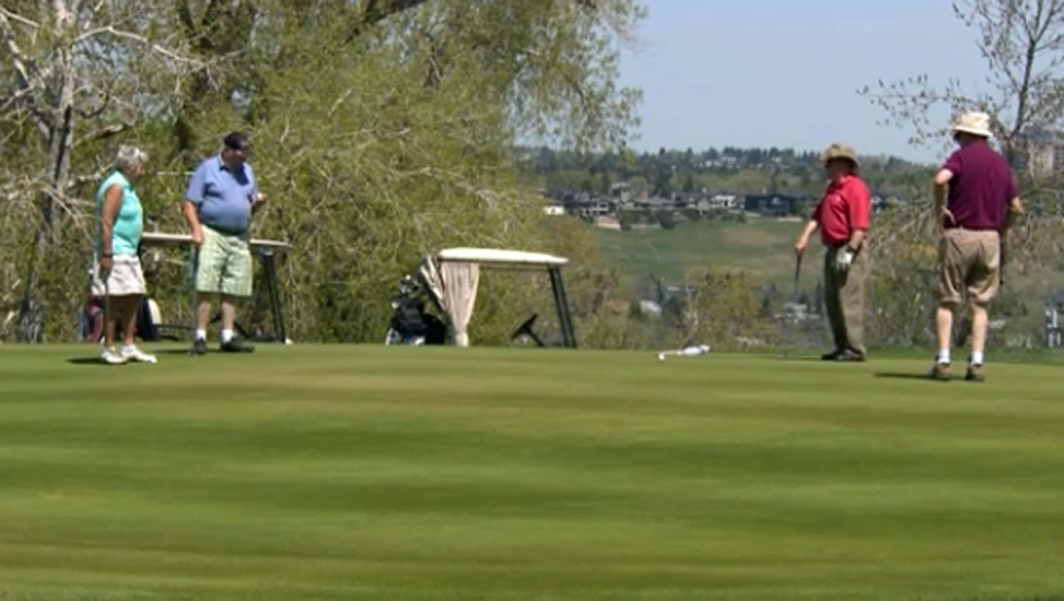Calgary city council will discuss ways to keep its city-owned golf courses profitable