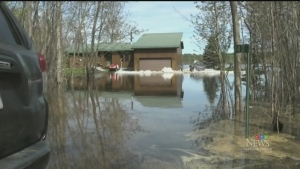 Flooding causes state of emergency in French River (Molly Frommer/CTV Northern Ontario)