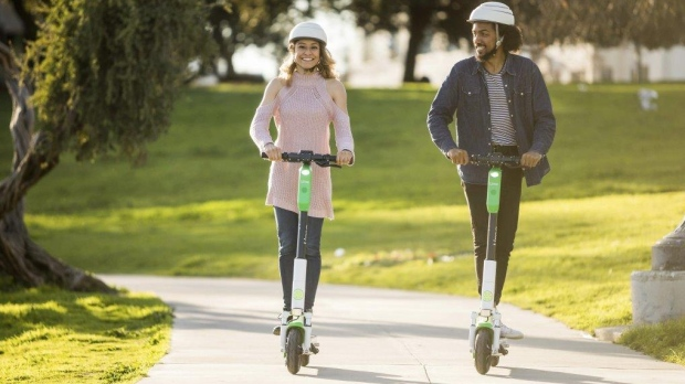 E-scooter company in talks to bring its rentals to Victoria