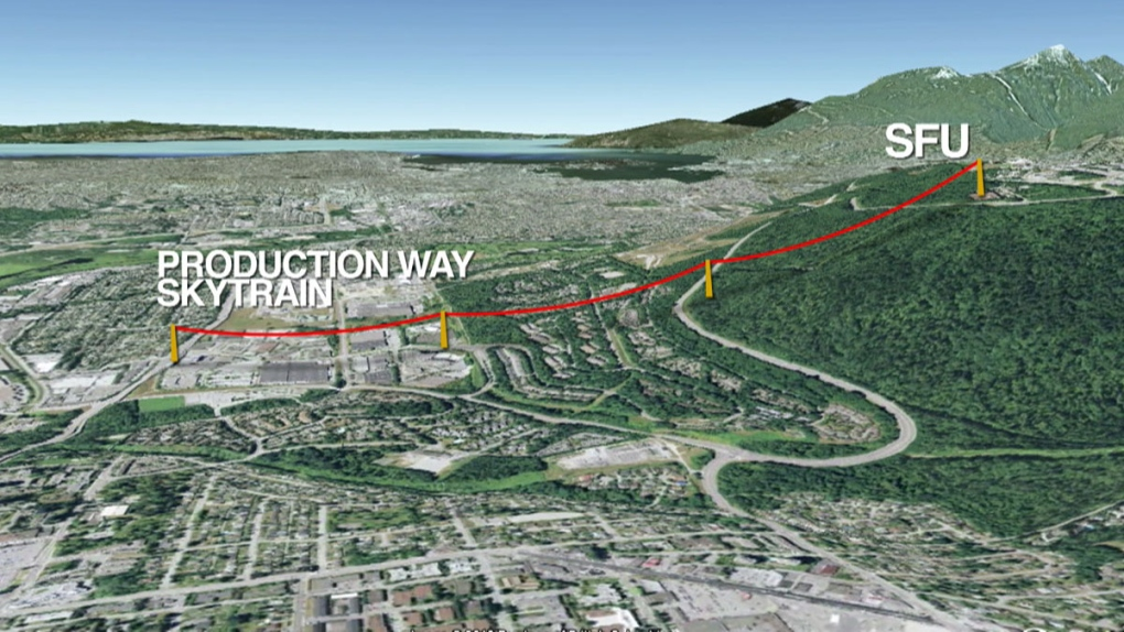 Council votes on Burnaby Mountain gondola to SFU