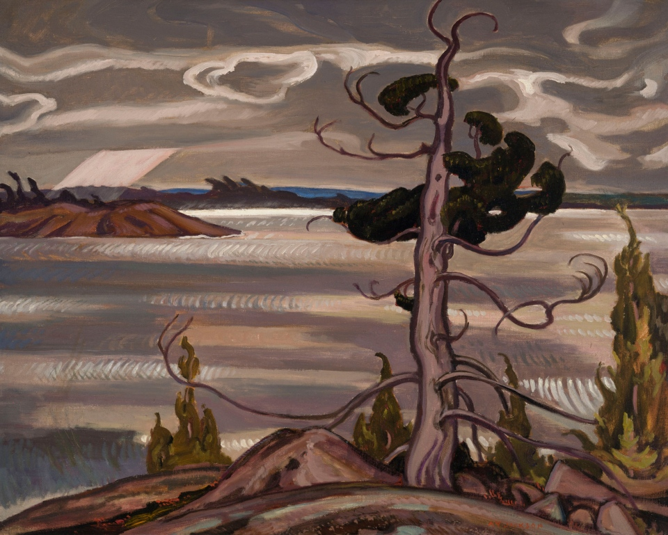 """Red Cedar"" by Canadian artist A.Y. Jackson is expected to fetch between $125,000 and $175,000 at auction in Toronto. (Heffel Fine Art Auction House)"
