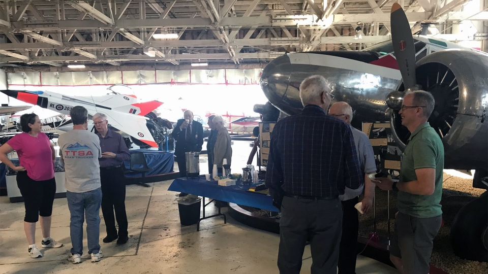 The Alberta Aviation Museum. (BRANDON LYNCH/CTV ED