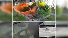 Flowers stolen from Paul Bell memorial