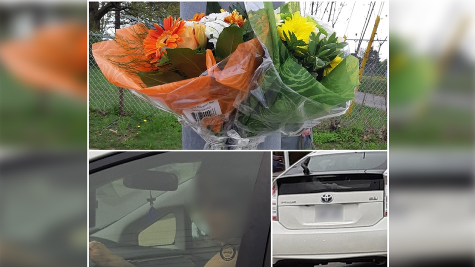 Photos taken after the first set of flowers was allegedly stolen back in May. (Jo-Jo Frances / Facebook)