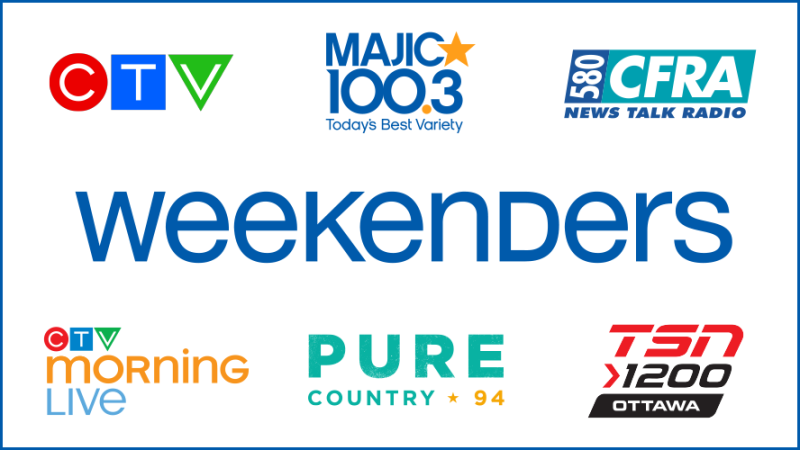 Bell Media Weekenders Main Banner