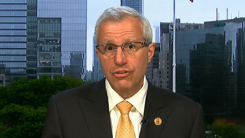 """Nipissing MPP Vic Fedeli has denounced a former colleague for traumatizing a local family by """"fabricating claims"""" a family member died because of the COVID-19 vaccine. (File)"""