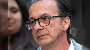 Michel Cadotte arrives at the courthouse for his sentencing in Montreal on Tuesday, May 28, 2019. (THE CANADIAN PRESS/Paul Chiasson)