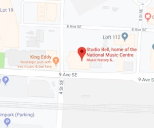 Studio Bell Map