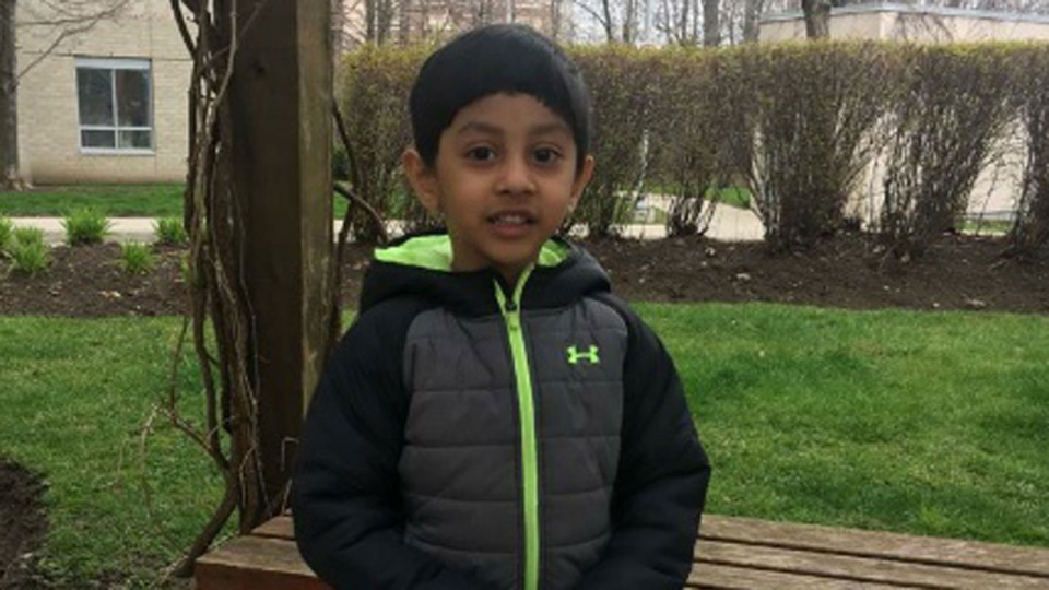 Radiul Chowdhury, 4, is seen in this undated photograph.