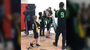 Boy with autism becomes basketball hero
