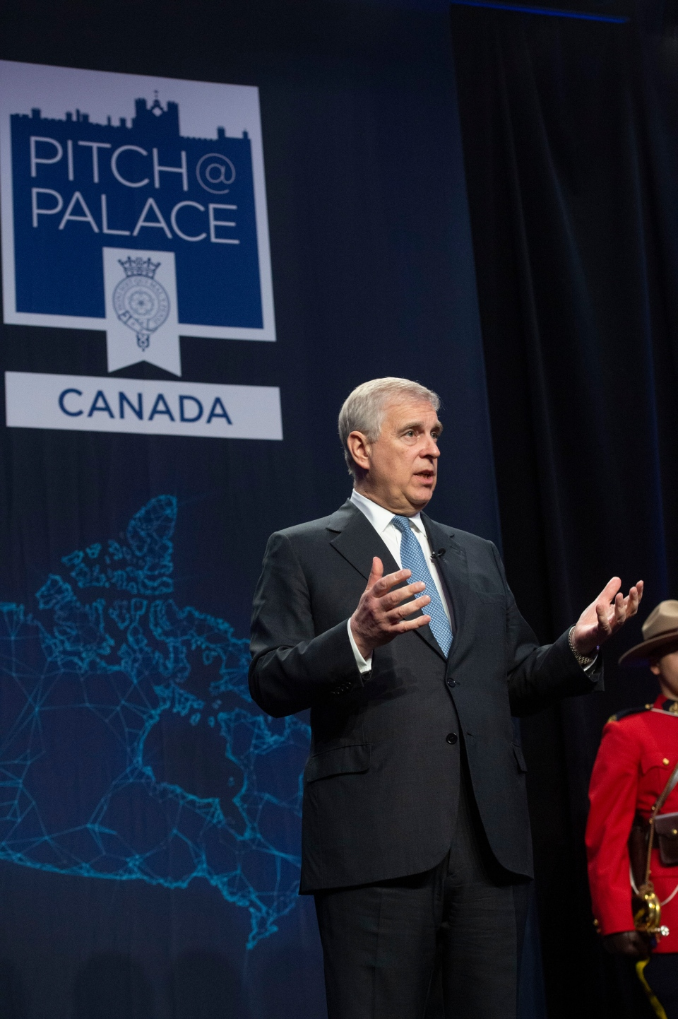 Prince Andrew was in Toronto for the first Canadian Pitch@Palace event, which saw 24 entrepreneurs from across the country pitch their business ideas to a panel of judges including the Duke of York. (Pitch@Palace)