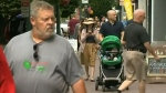 Maintaining the people-first Government Street is possible while keeping a trickle of vehicle traffic, Mayor Lisa Helps says. (CTV Vancouver Island)