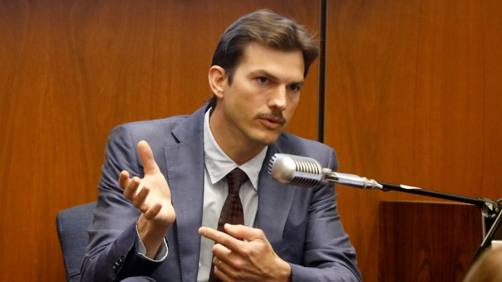 Ashton Kutcher testifies