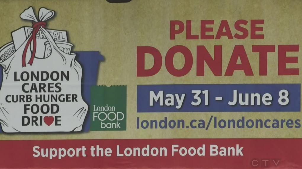 London Cares Curb Hunger Food Drive kicks off