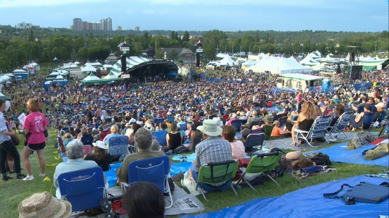 Terry Wickham said it's unlikely there will be a 2021 Edmonton Folk Festival.