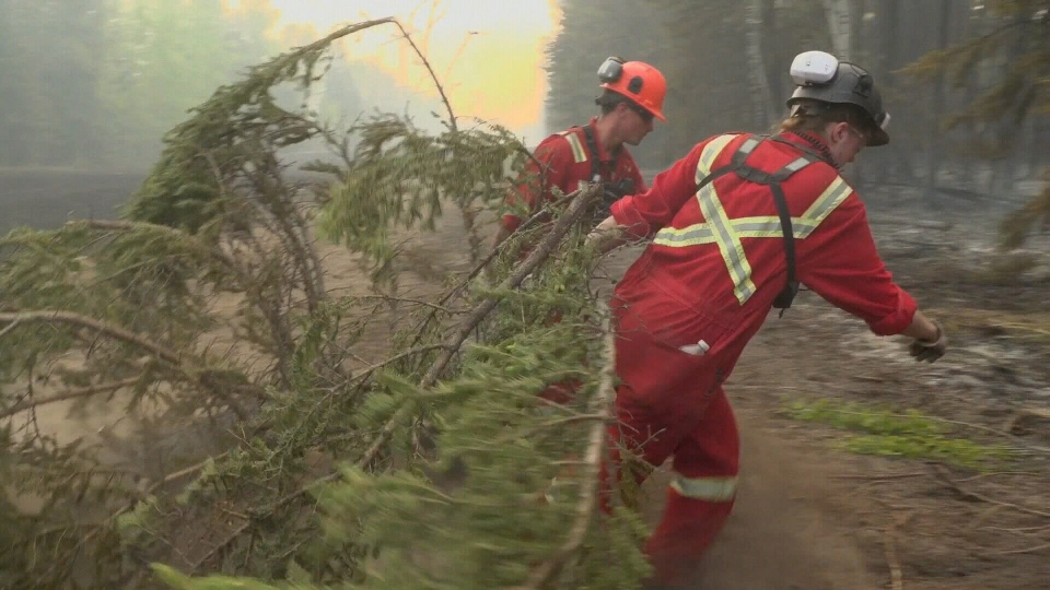 Alberta wildfire firefighters