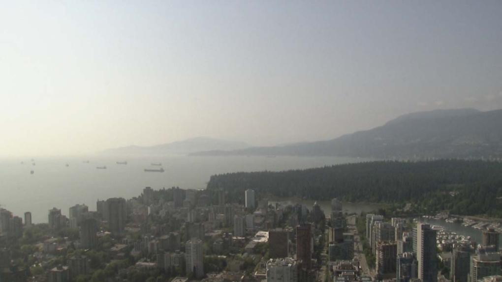 Haze over Vancouver