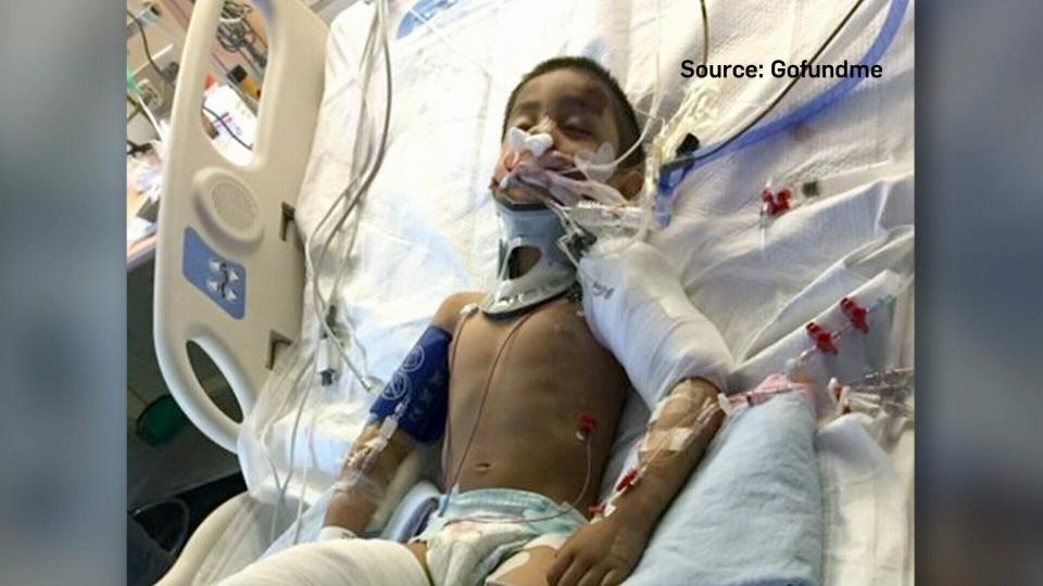 Radiul Chowdhury was injured after he dashed onto Victoria Park Avenue on Sunday. (GoFundMe)