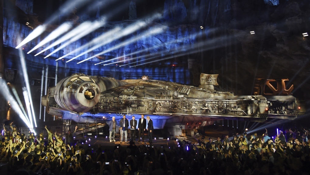 Debuting Star Wars: Galaxy's Edge at Disneyland