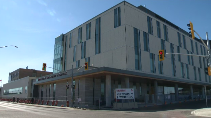 The Cambridge Memorial Hospital seen in this file photo.
