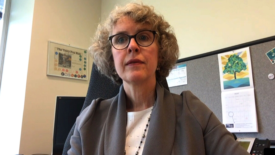 Kathleen Morris, vice-president of research and analysis at the Canadian Institute for Health Information Research, spoke to CTV News Channel about a new report which found more Canadians are hospitalized per day for health problems and injuries caused by alcohol or drugs than for heart attacks and strokes combined