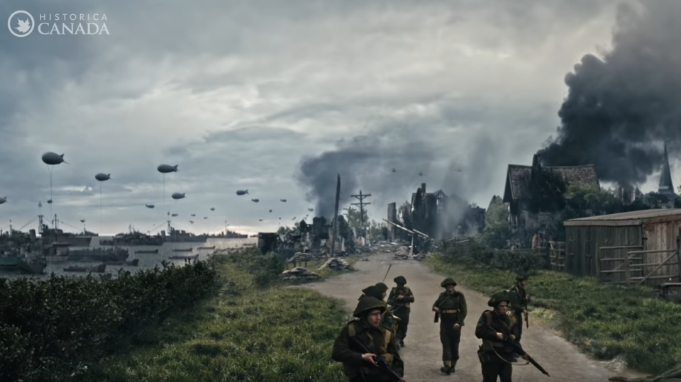 Historica Candaa's new Heritage Minutes short film pays tribute to Canadian soldiers who fought on D-Day. (Historica Canada)