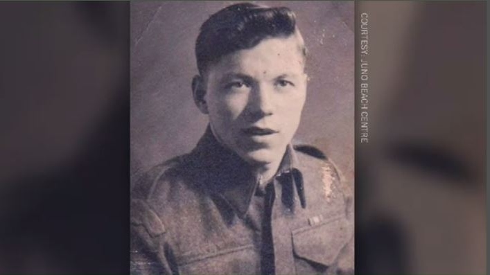 Pte. Randolph Pitre, who was born in the Elsipogtog First Nation, was one of 35 soldiers of the North Shore Regiment who died on D-Day, June 6, 1944.