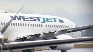A passenger on a WestJet flight from Calgary to Brandon, MB on March 15 has been confirmed to have COVID-19, according to the Government of Manitoba. (File Photo)