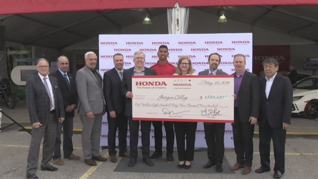 Honda Canada invests in Georgian College partnership with