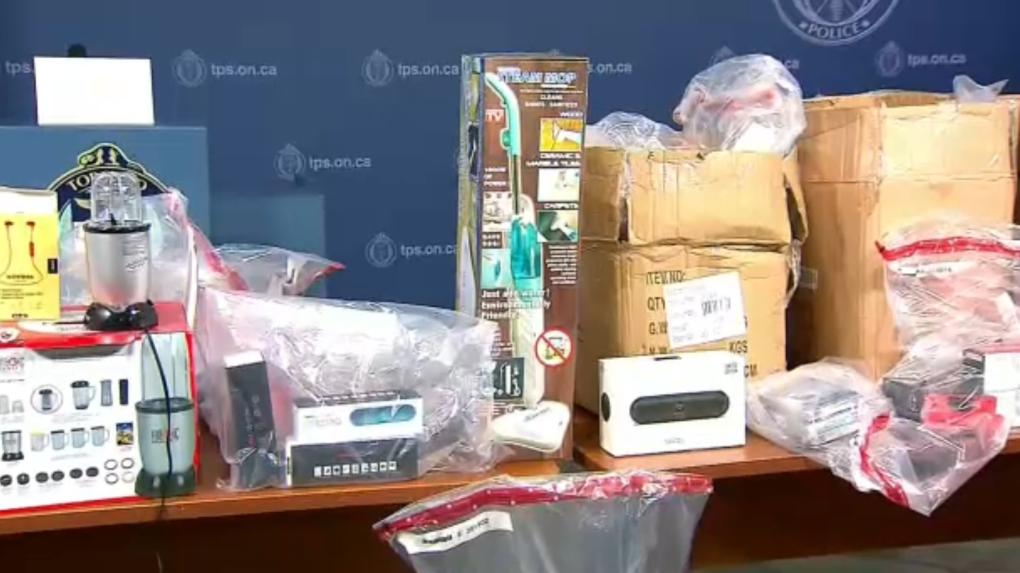 Counterfeit goods Calgary police