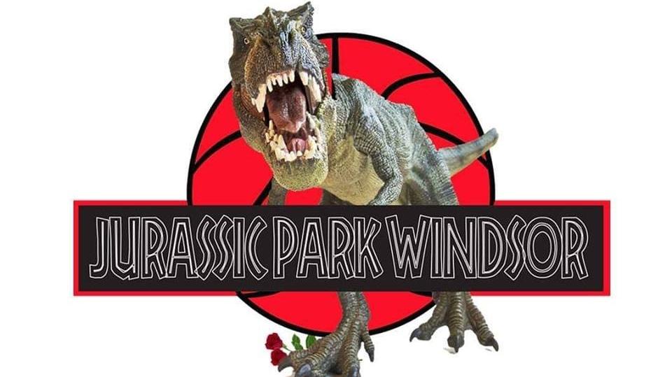 Jurassic Park Windsor. (Courtesy Downtown Windsor BIA / Twitter)