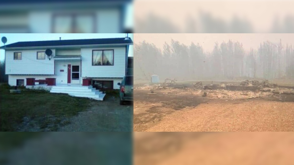 Paddle Prairie home destroyed by fire