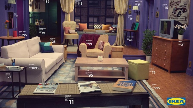 Attractive The U201cRoom For Everyoneu201d Is Unmistakably Styled To Look Like U201cStranger  Thingsu201d Character Joyce Byersu0027 Cluttered Living Room With The Alphabet  Scrawled Across ...