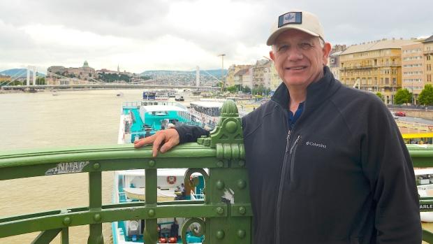 Ken Hoffer in Budapest, Hungary
