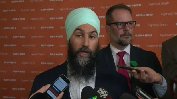 Singh: An NDP government would pave the road for free public transit
