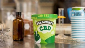 "Ben & Jerry's, known the world over for flavours like ""Half Baked,"" announced Thursday that it hopes its next hit flavour will include cannabidiol, providing the U.S. Food and Drug Administration (FDA) legalizes cannabinoid-infused food and beverages. (Handout/Ben & Jerry's)"