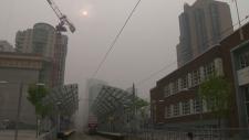 Calgary Environment Canada high risk air quality
