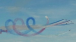 Red Arrows wow at U.K. airshow