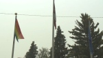 Controversial pride flag raised in Taber