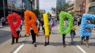 Thousand of Winnipeggers hit the streets Sunday for the annual Pride Winnipeg Rally and Parade. (Source: Daniel Timmerman/CTV Winnipeg)