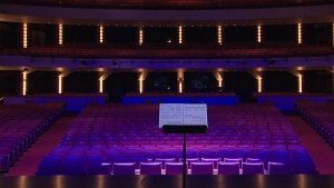 Take a look inside Canada's National Arts Centre in Ottawa.