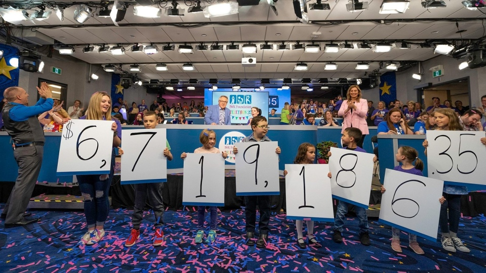 A record-breaking $6.7 million was raised at the 35th annual IWK Telethon. (IWK Foundation)