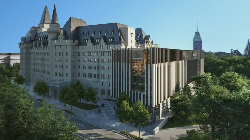 chateau laurier addition