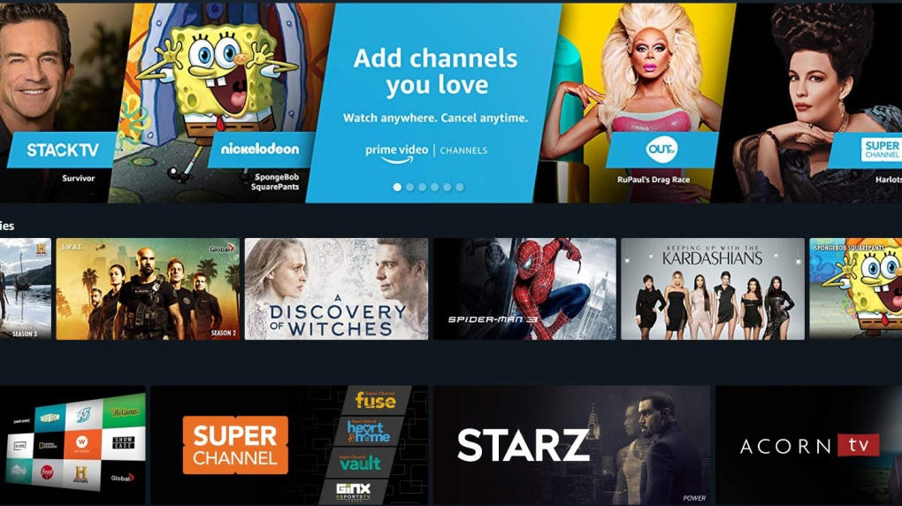 Amazon launching streaming option similar to cable for Canadian viewers