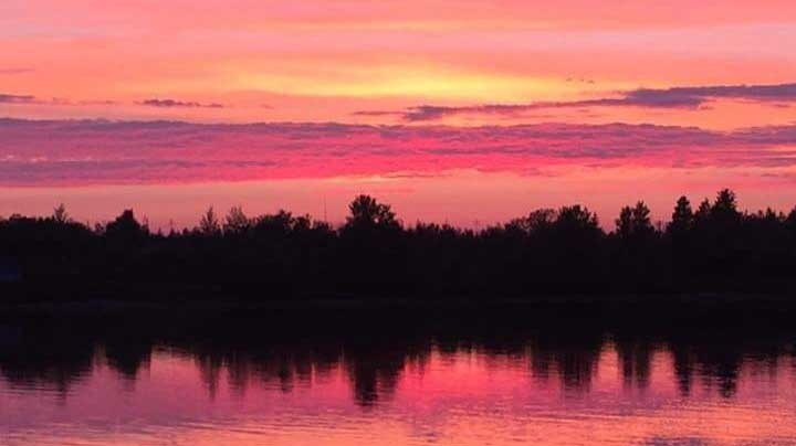 Misipawistik sunset
