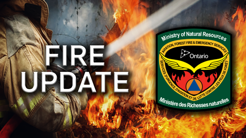 Northern Ontario forest fire update Tuesday, July 16, 2019